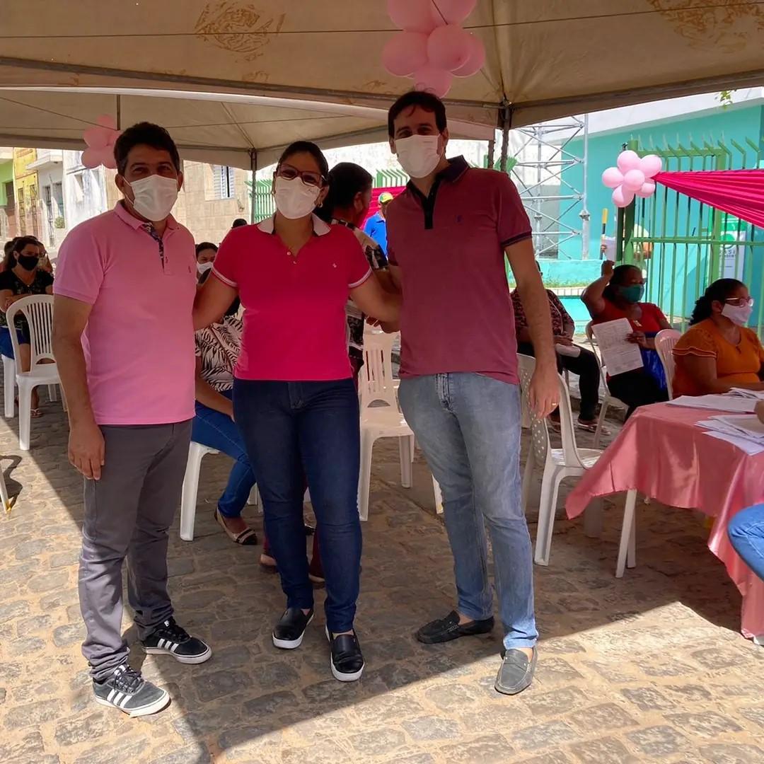 Secretaria de saúde lança campanha do Outubro Rosa 2021